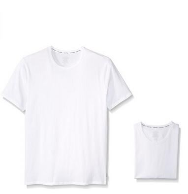美亚好价!Calvin Klein 卡文克莱 男士弹力圆领短袖T恤 2件装