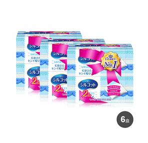 日本进口!丰趣好价!Unicharm 尤妮佳 silcot 化妆棉82枚*6盒装