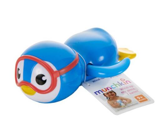 凑单直邮无税!Munchkin Wind Up Swimming Penguin 满趣健自由泳小企鹅