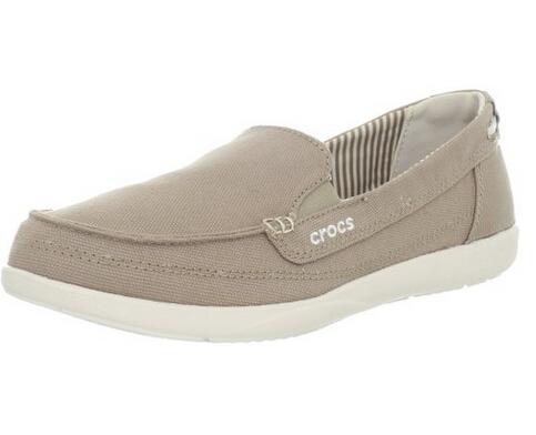 美亚好价!Crocs 卡洛驰风尚沃尔卢系列Walu Canvas 女士休闲帆布鞋