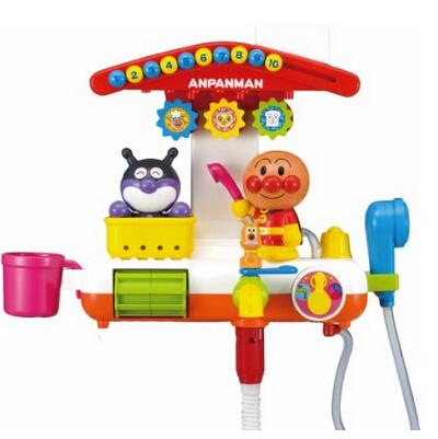日亚新低!PINOCCHIO 面包超人 洗澡玩具