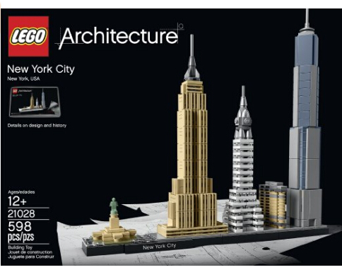 历史新低!LEGO Architecture New York City 21028 乐高纽约城