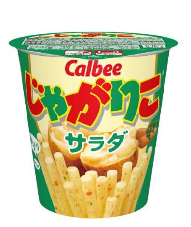 近期好价!Calbee 卡乐比 土豆沙拉口味杯装薯条 60g×12个