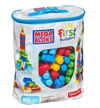 美亚好价!Mega Bloks 美家宝 建筑积木 80片
