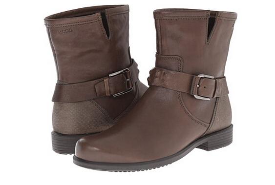6PM新低价!ECCO 爱步 触感 女士平底短靴