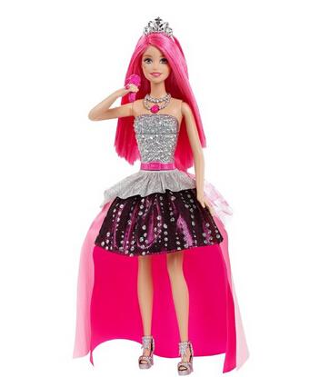 美亚好价!Barbie 芭比娃娃摇滚公主变装玩偶