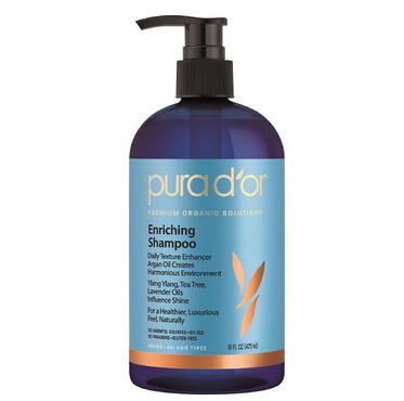 美亚直邮推荐!PURA D'OR Enriching Shampoo 头皮滋养洗发水