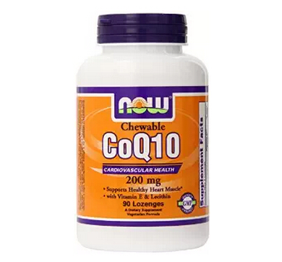 送父母保健品!NOW Foods 诺奥辅酶Q10 维生素E卵磷脂胶囊