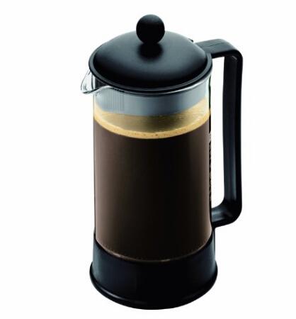 咖啡壶海淘!Bodum Brazil 1-Liter 波顿巴西法压壶、咖啡壶1升