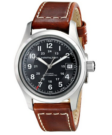 比黑五还低!Hamilton 汉密尔顿卡其军表男士自动机械手表