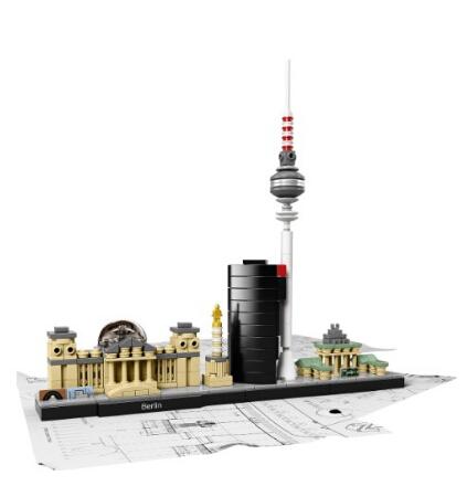 美亚新低!LEGO 21027 Architecture Berlin 乐高建筑系列德国柏林