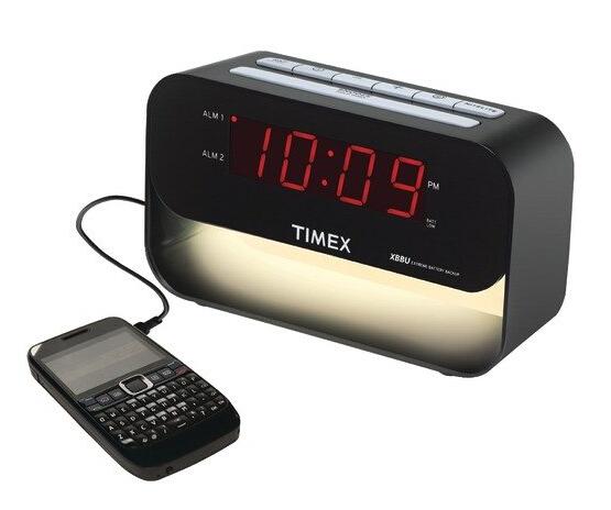 直邮新低!Timex Decorative XBBU 天美时带USB充电闹钟
