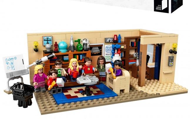 美亚近期新低!LEGO 21302 乐高创意系列之生活大爆炸
