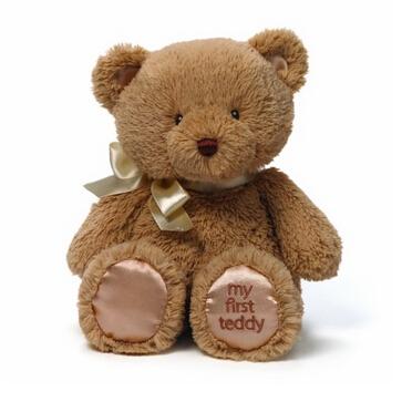 美亚直邮!Gund毛绒玩具眼睛刺绣泰迪熊10寸