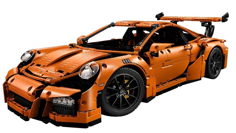这辈子得来一辆911!手快有!LEGO 42056 乐高保时捷 911 GT3 RS
