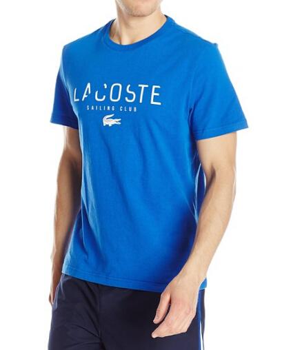 新低手快!Lacoste 法国鳄鱼 Sailing Club 男士纯棉T恤