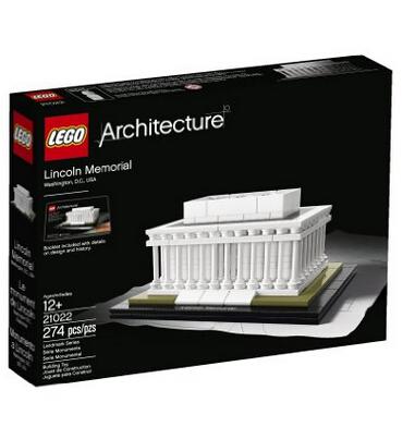 美亚好价!LEGO Architecture 21022 乐高建筑系列之林肯纪念堂