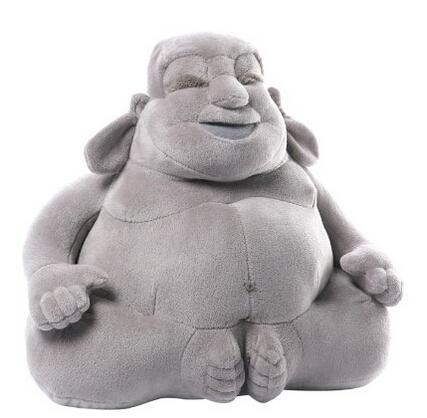 美亚直邮好价!GUND Huggy Buddha 开心弥勒佛28cm