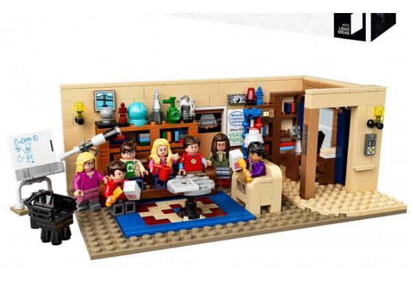 海淘乐高推荐! LEGO 21302 乐高 21302 生活大爆炸