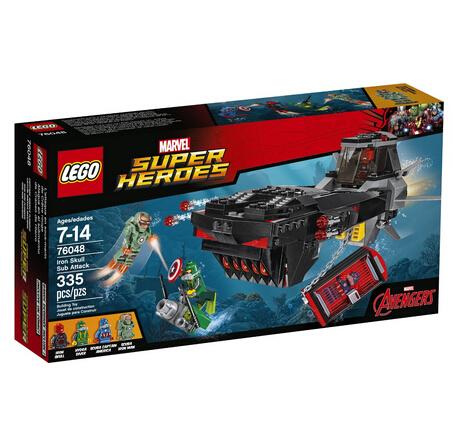 乐高海淘!LEGO 76048 乐高超级英雄系列钢铁骷髅地下攻击