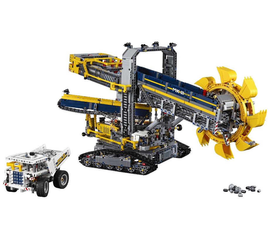 狠货!旗舰!值得海淘!LEGO 42055 乐高机械组斗轮挖掘机