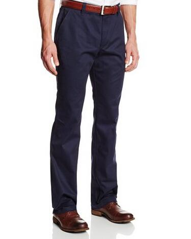 新低!Lee Uniforms 李牌 Straight-Leg College 男士直筒休闲裤