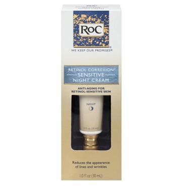 直邮好价!RoC Retinol Correxion 视黄酮敏感晚霜30ml