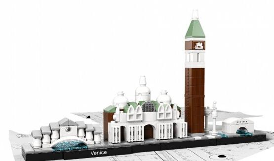 海淘新低!LEGO 21026 乐高建筑系列之威尼斯街景