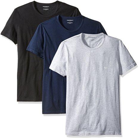 近期新低,手快!Emporio Armani 阿玛尼圆领T恤*3件装