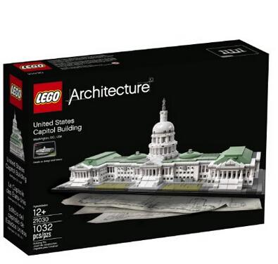 尝鲜价!LEGO 乐高 21030 美国国会大厦
