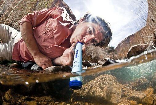 历史新低!秒杀价!LifeStraw 生命吸管直饮过滤器