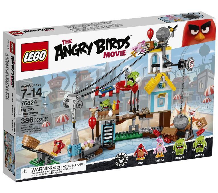 破30刀了!LEGO 乐高 75824 愤怒的小鸟系列猪城的毁灭