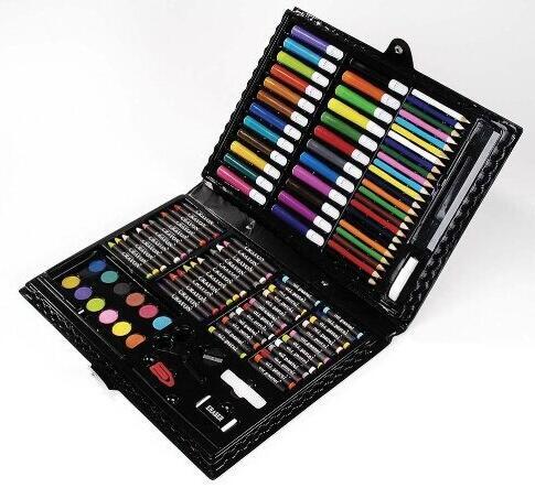 再次好价,直邮!Darice 便携式美术绘画工具 120件豪华版