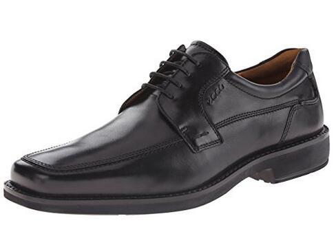 新低可入!ECCO 爱步西雅图 Seattle Apron-Toe 男士正装皮鞋