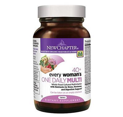 好价可入!New Chapter 新章 40岁以上女性综合有机营养片72粒