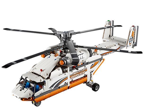 Thehut乐高海淘!LEGO 乐高 42052 机械组 双旋翼运输直升机