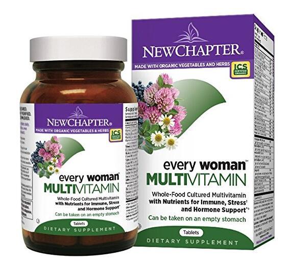 新低可入!New Chapter 新章40岁以下女性综合有机营养片120粒