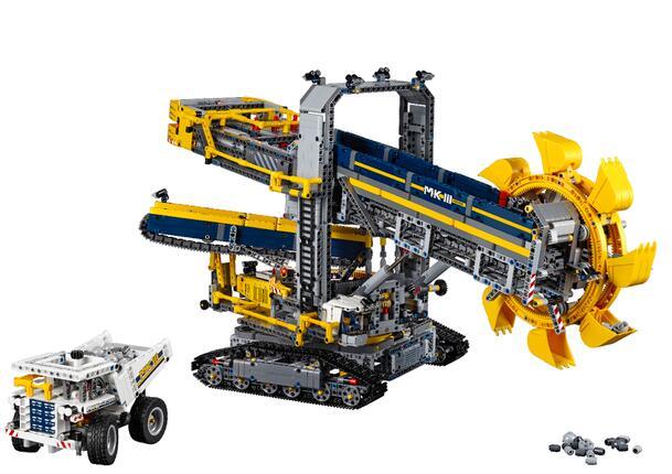 白菜价!TheHut直邮!LEGO 42055 乐高2016真旗舰斗轮挖掘机
