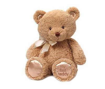 美亚直邮新低!Gund My First Teddy 毛绒泰迪熊38cm