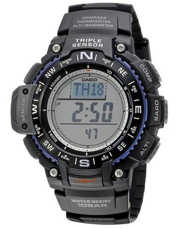 直邮好价!CASIO SGW-1000-1ACR 卡西欧男士运动手表