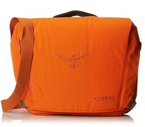 橙色最低价!Osprey Packs Beta 小鹰贝塔派城市日用电脑邮差包