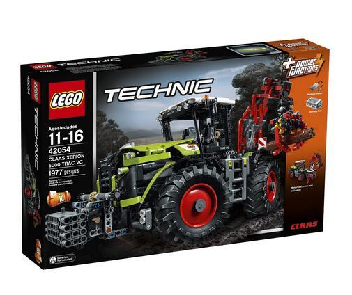 LEGO 42054 乐高机械组 Claas Xerion 5000型拖拉机