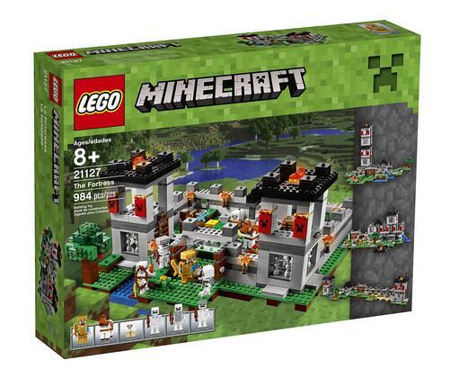 乐高新款推荐!LEGO 21127 乐高我的世界系列之堡垒要塞