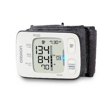 新低价!OMRON BP652 欧姆龙 7系腕式电子血压计