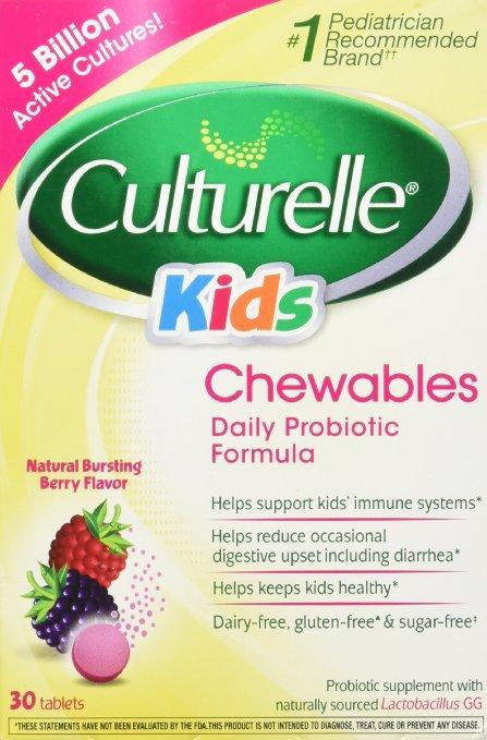 等到好价了!海淘美国 Culturelle 儿童益生菌咀嚼片