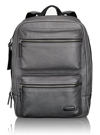 美亚新低价!TUMI Mission Bryant Leather Backpack 双肩背包