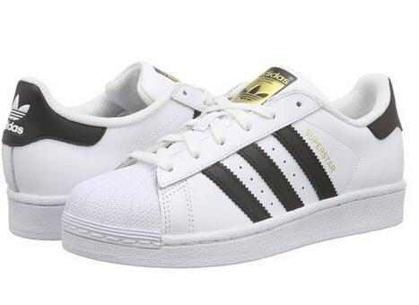 美亚新低价 adidas 阿迪达斯 Superstar系列 童款金标贝壳头板鞋