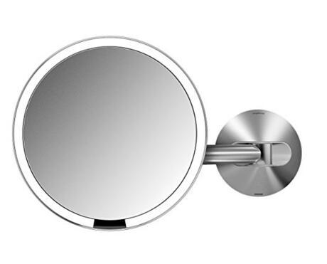美亚直邮推荐!simplehuman Wall Mount Sensor Mirror 感应化妆镜