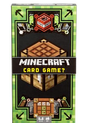 凑单新低价! MATTEL 美泰 Minecraft Card Game 我的世界卡片桌游