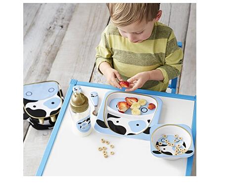 凑单新低价!SKIP HOP 动物园系列 儿童餐盘